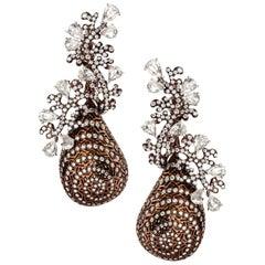 Twirling Shimmer Earrings by Neha Dani
