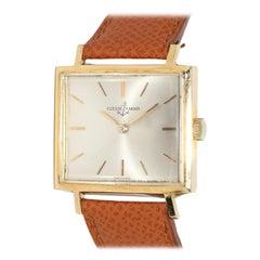 Ulysse Nardin Vintage TV Screen Wristwatch 18 Karat Gold