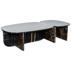 Unique Trilithon Marble Coffee Table, by Oskar Peet and Sophie Mensen