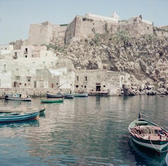 ' Boats In The Harbour '  circa 1960 Oversize Colour Pigment print