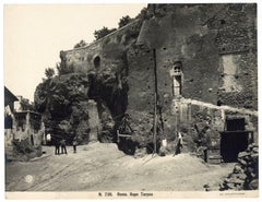 Rupe Tarpea in Rome  - Vintage Photo 1920s