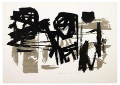 Graffiti - Original Screen Print - 1964