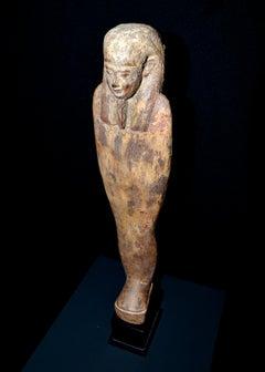 Spectacular ushabti in momiform position - Egypt - Circa s. VII - III B.C.