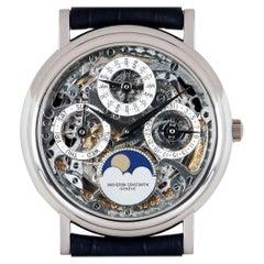 Vacheron Constantin Perpetual Calendar Platinum Skeleton Dial 43032/6