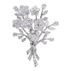 Van Cleef & Arpels Diamond Bouquet Brooch