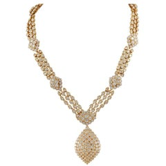Van Cleef & Arpels Diamond Necklace-Bracelet