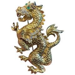 Van Cleef & Arpels Dragon Brooch