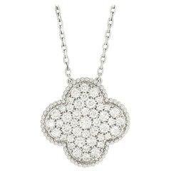 Van Cleef & Arpels Magic Alhambra Diamond Pendant