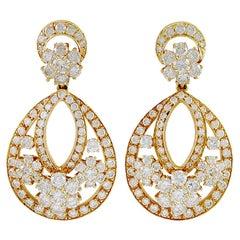 Van Cleef & Arpels Snowflake Chandelier Earrings