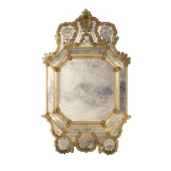Venetian Octagonal Glass Mirror