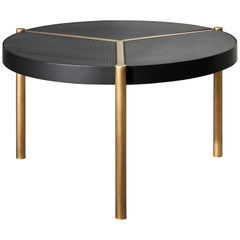 VeniceM Urban Coffee Table in Brass and Metal by Massimo Tonetto