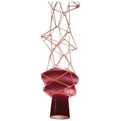 Venini Stelle Filanti Pendant Light in Violet by Atelier Oï