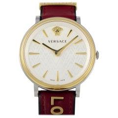 Versace V-Circle Quartz Watch VBP020017
