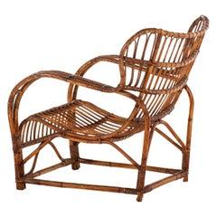 Viggo Boesen Easy Chair Produced by E.V.A. Nissen & Co in Denmark