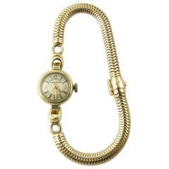 Vintage 1960s Vacheron Constantin 14 Karat Yellow Gold Ladies Hand Winding Watch