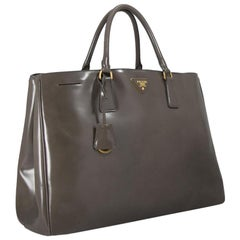 Vintage Authentic Leather Spazzolato Shopping Bag w Dust Bag Authenticity Card
