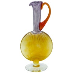 Vintage Glass Pitcher by Kosta Boda, 1970s