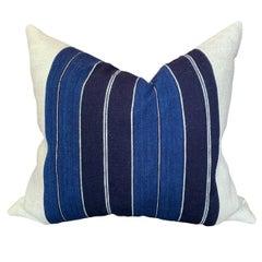 Vintage Japanese Indigo Pillow