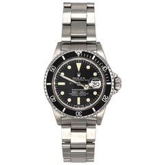 Vintage Rolex Submariner 1680 Stainless Steel Watch, circa 1979