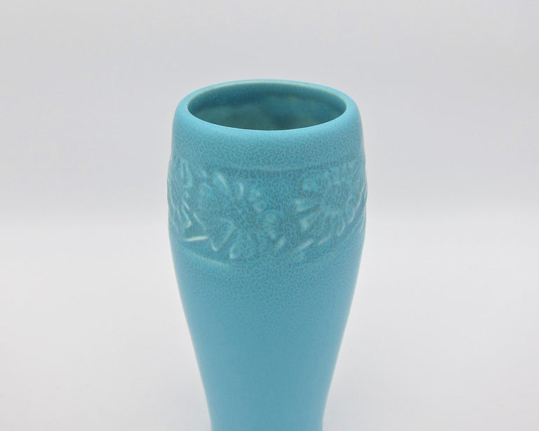 Vintage Rookwood Pottery Arts & Crafts Sunflower Vase, 1930 1