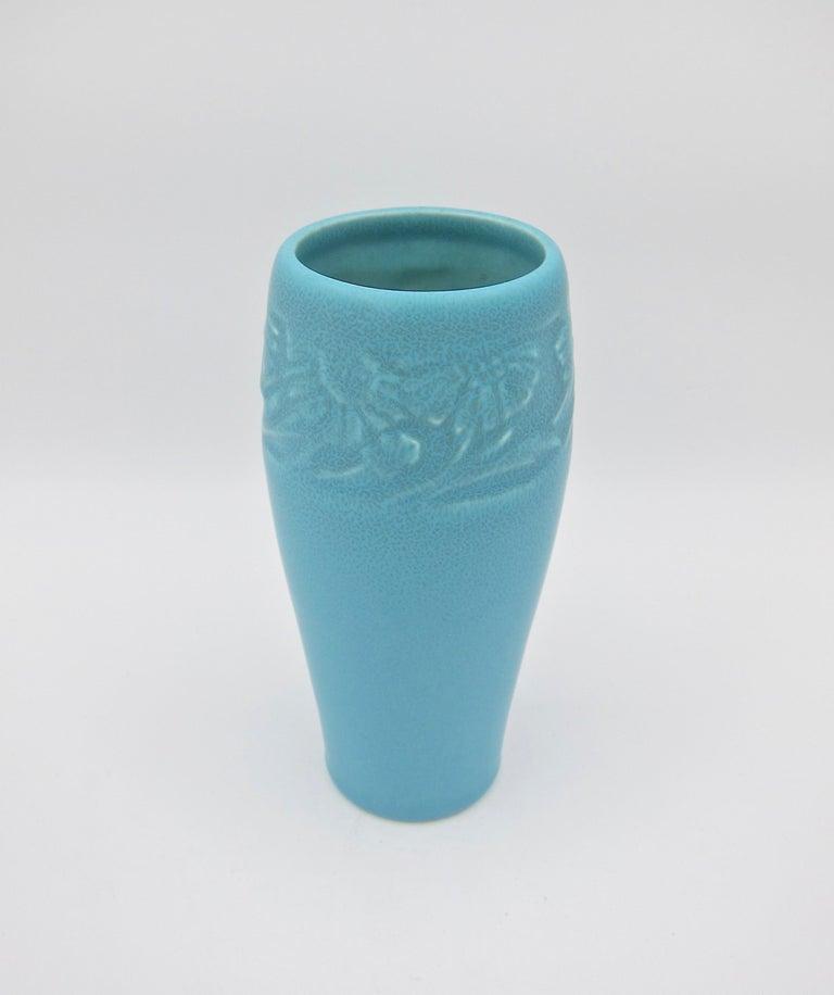 Vintage Rookwood Pottery Arts & Crafts Sunflower Vase, 1930 2