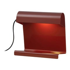 Vitra Lampe De Bureau in Japanese Red by Jean Prouvé
