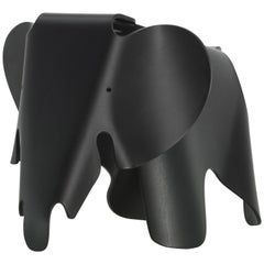 Vitra Small Eames Elephant in Deep Black by Charles & Ray Eames