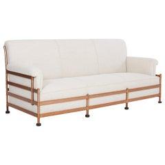 Warren McArthur Rare Copper Frame Sofa