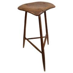 Wharton Esherick Wooden Stool