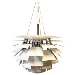White Artichoke by Poul Henningsen and Louis Poulsen