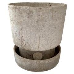 Willy Guhl Two-Piece Flower Pot