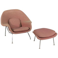 Mid-Century Modern Womb Chair by Knoll