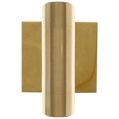 Wyeth Original Minimalist Polished Brass Wall Sconce