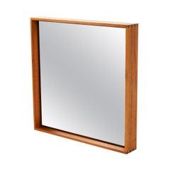 WYETH Original Thin Line Walnut Wall Mirror