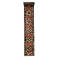 Extra Large Serapi Heriz Design Runner Hand Knotted Oriental Rug
