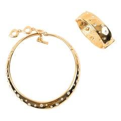 YVES SAINT LAURENT Vintage Necklace And Bracelet Set