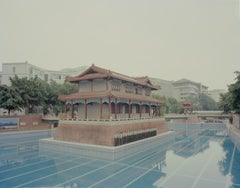 The Soldiers Standing by the Pool - Contemporary Chinese Photography