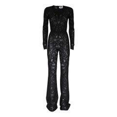 Zuhair Murad Black Lace Overall It 40