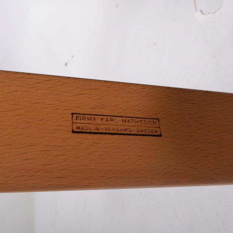 Mid-20th Century #36 Bruno Mathsson Chair for Karl Mathsson For Sale