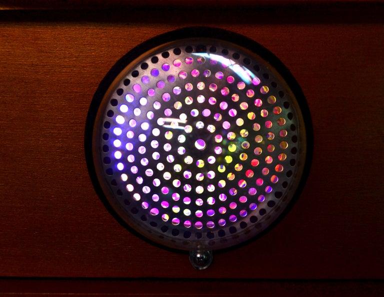 Art Donovan / Kinetic, Illuminated, Moon TV Sculpture, Midcentury/Atomic Age For Sale 6