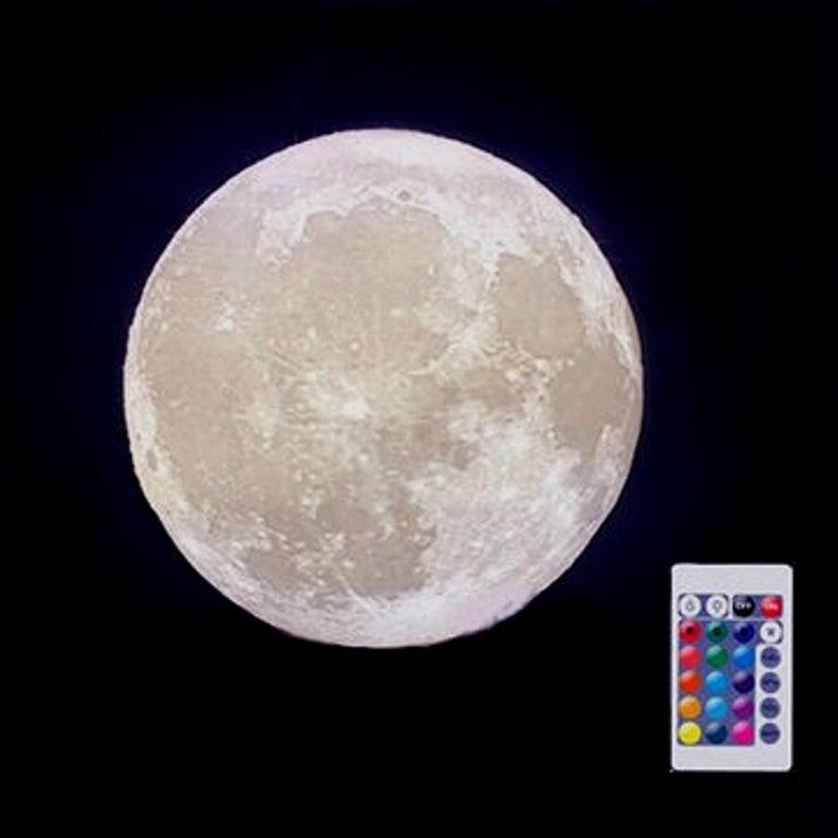 Art Donovan / Kinetic, Illuminated, Moon TV Sculpture, Midcentury/Atomic Age For Sale 10