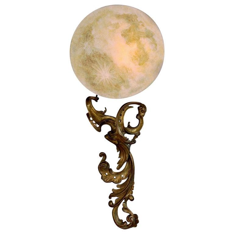 """Art Donovan, """"La Luna"""" Wall Lights 1"""