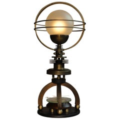 "Art Donovan / ""Petite Cosmo"" Table Lamp"