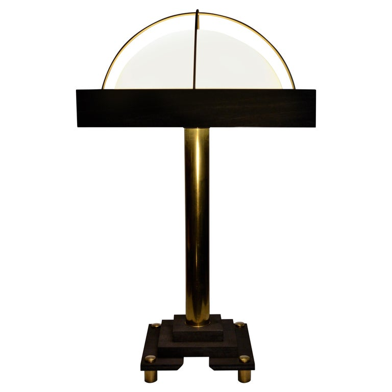 "Art Donovan, ""Salon"" a Modernist, Bauhaus-Inspired Table Lamp For Sale"