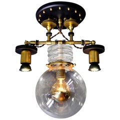 "Art Donovan ""Tesla 3-Light Pendant Lamp"