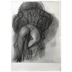 """Danseuse Assise"" 'Sitting Dancer' Lithograph by Henri Matisse"