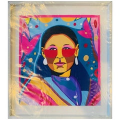 Peggy Bull, Serigraph by George Littlechild 1/50