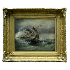 """Shipwrecked"" by Stuart Henri Bell 'British 1823-1896'"