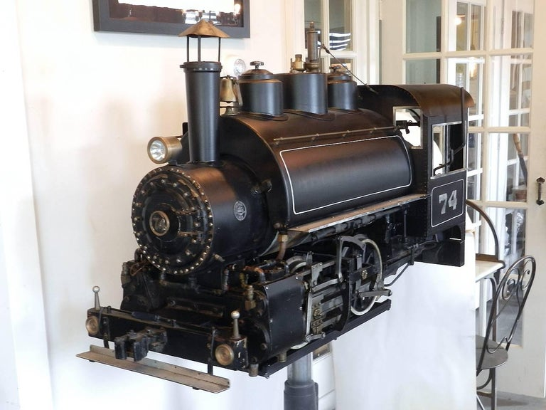 20th Century 0-4-0 Industrial Tank Live Steam Railroad Engine For Sale