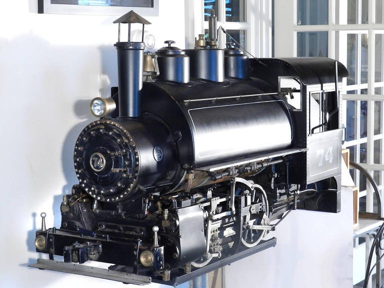0-4-0 Industrial Tank Live Steam Railroad Engine For Sale 2
